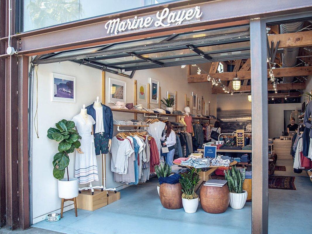 Marine Layer store