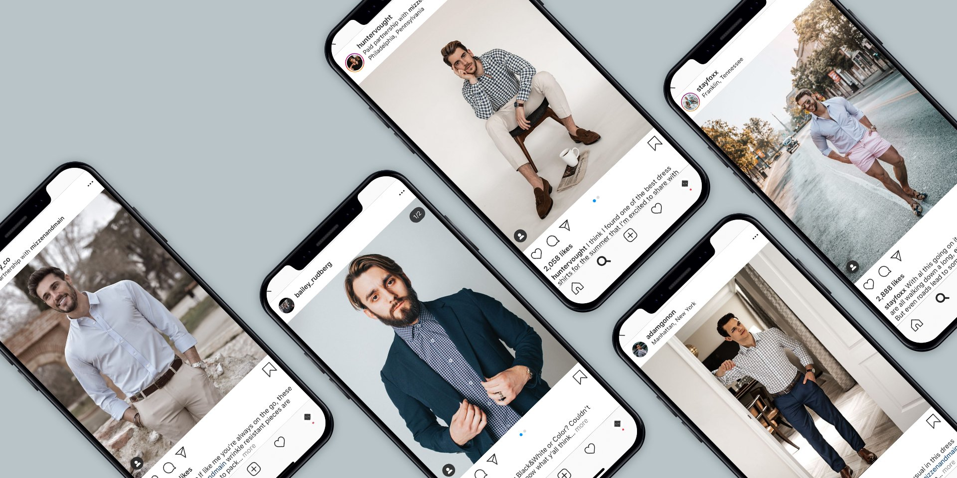 mizzen and main influencer examples