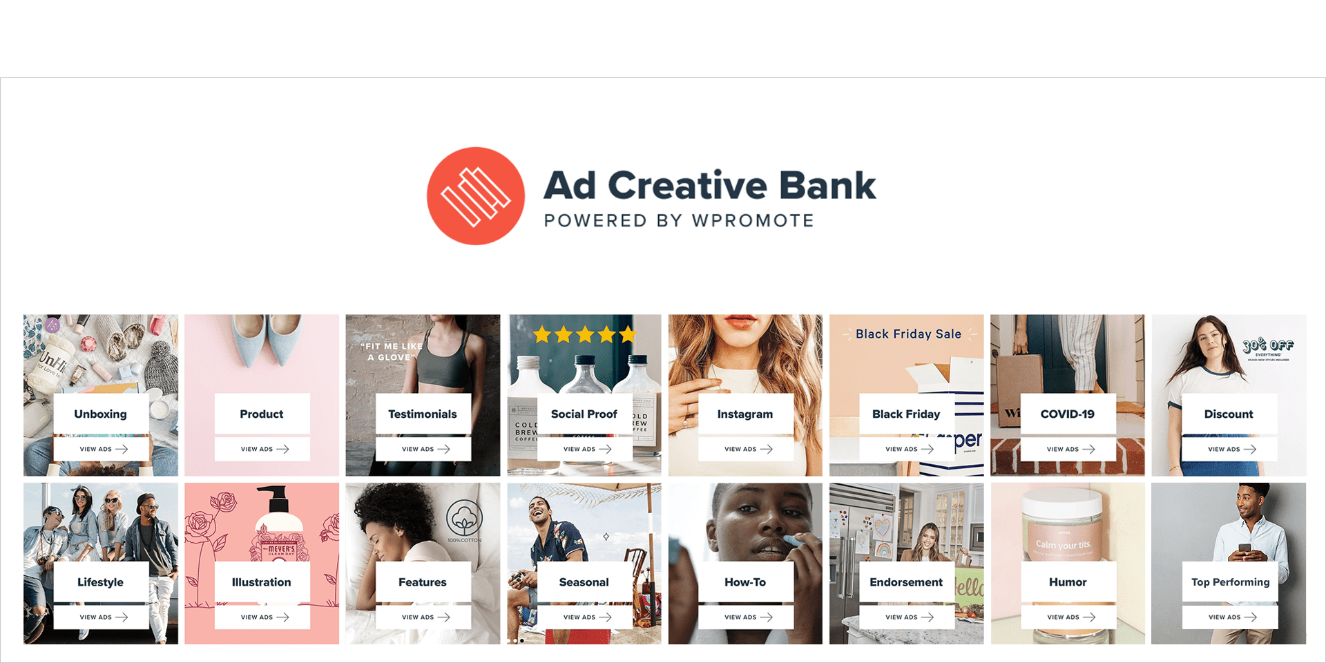 Ad Bank Categories