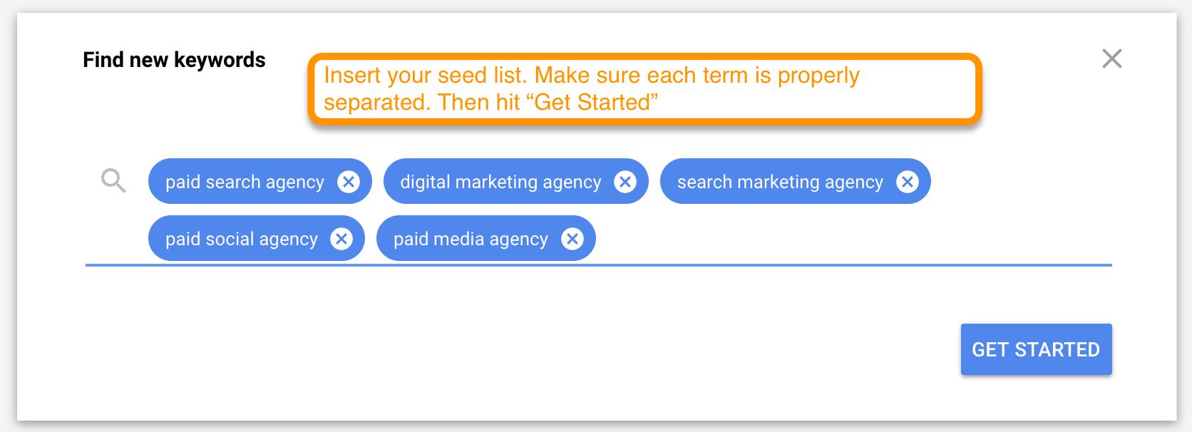 seed list