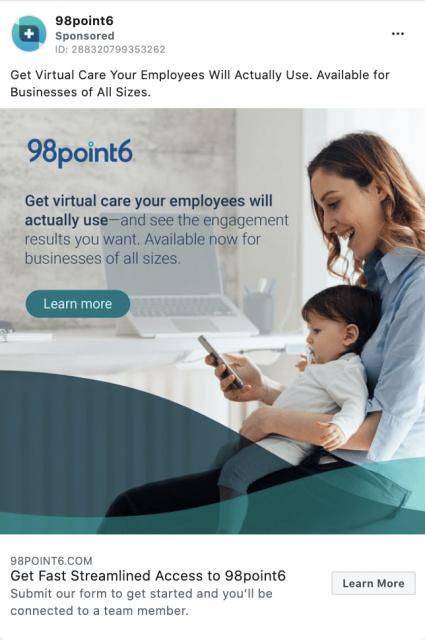 98point6 digital marketing ad