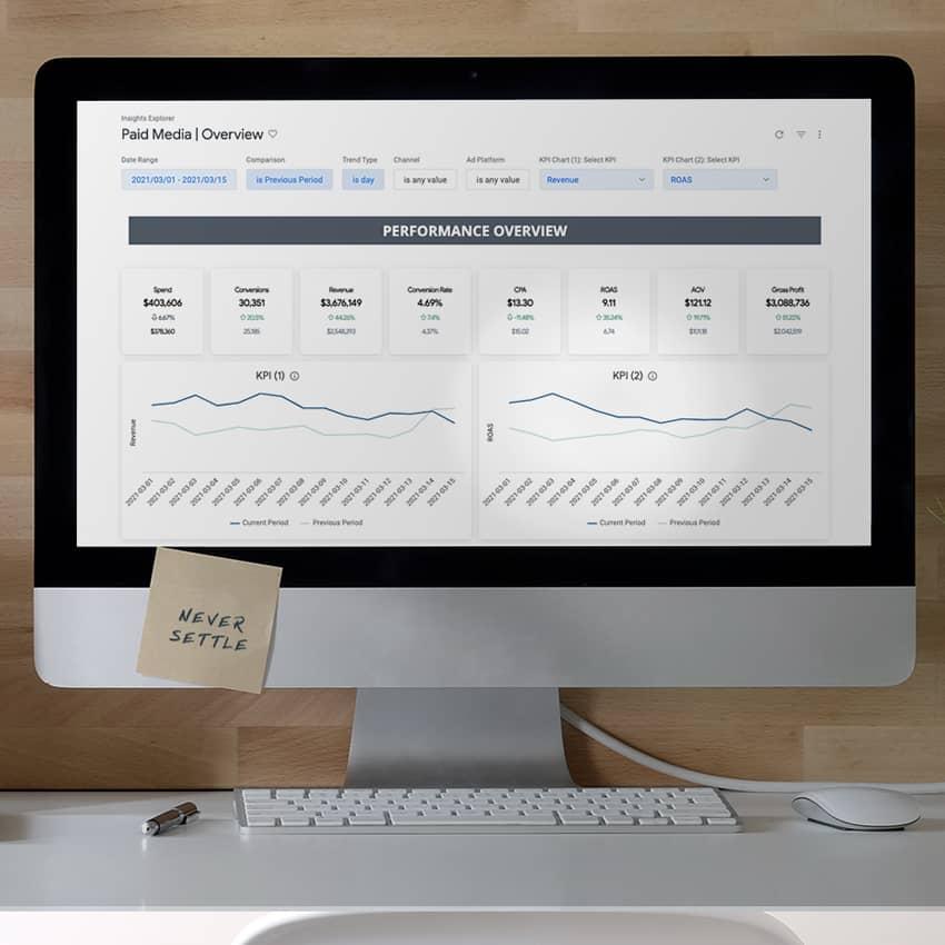 Insights Explorer screen