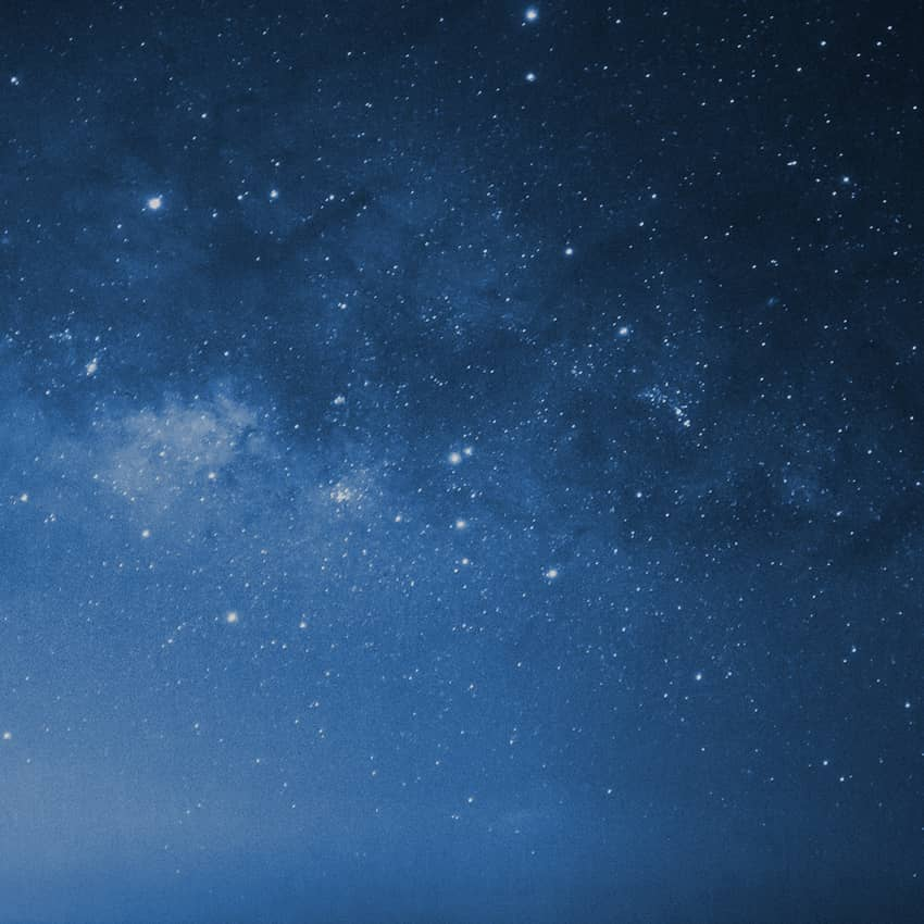 Polaris night sky