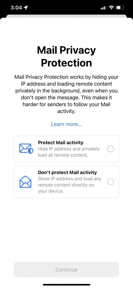 wwdc mail privacy protection