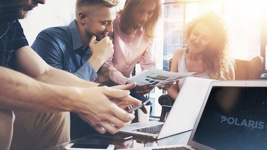Wpromote employees using Polaris software