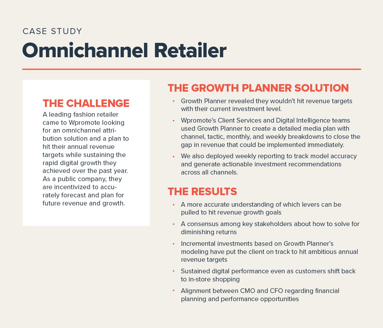 Omnichannel retail case study about Growth Planner in Polaris